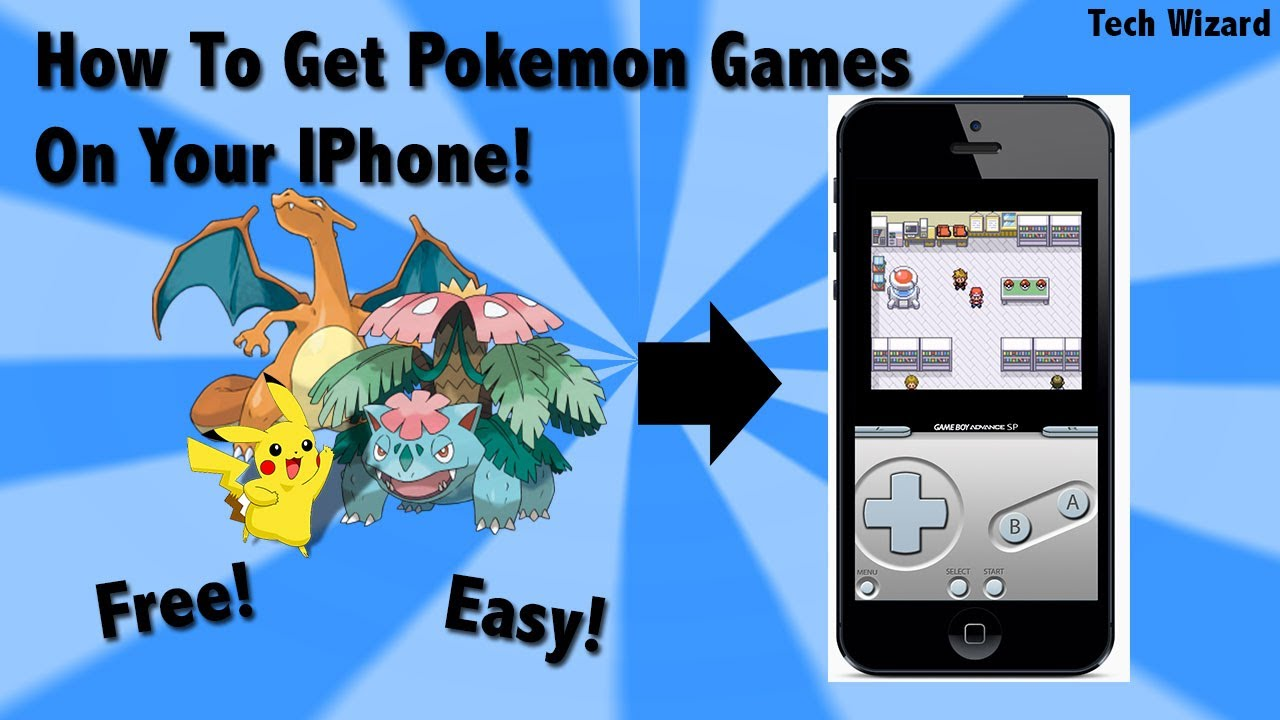 How to Get Pokémon on iPhone [Without JailBreaking]