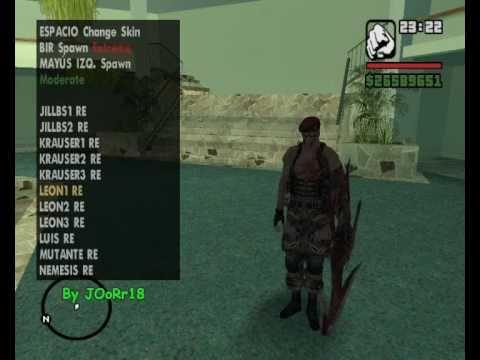 Skins Selector Para Gta San Andreas Pc
