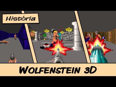 História do Wolfenstein 3D