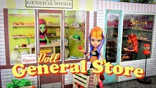 How To Make A Doll General Store