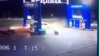 حادثة سير خطيرة عند مدخل مدينة طنجة