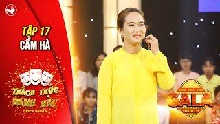 """Thách thức danh hài 3   tập 17 (gala 3): cô giáo youtube Cẩm Hà """"dập"""" Ngô Kiến Huy tơi tả"""