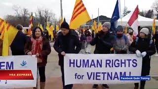 Truyền hình VOA 23/1/19: Biểu tình tại Liên hiệp quốc khi VN báo cáo nhân quyền