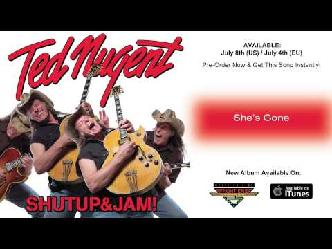 Ted Nugent - She's Gone (Official Song / 2014)