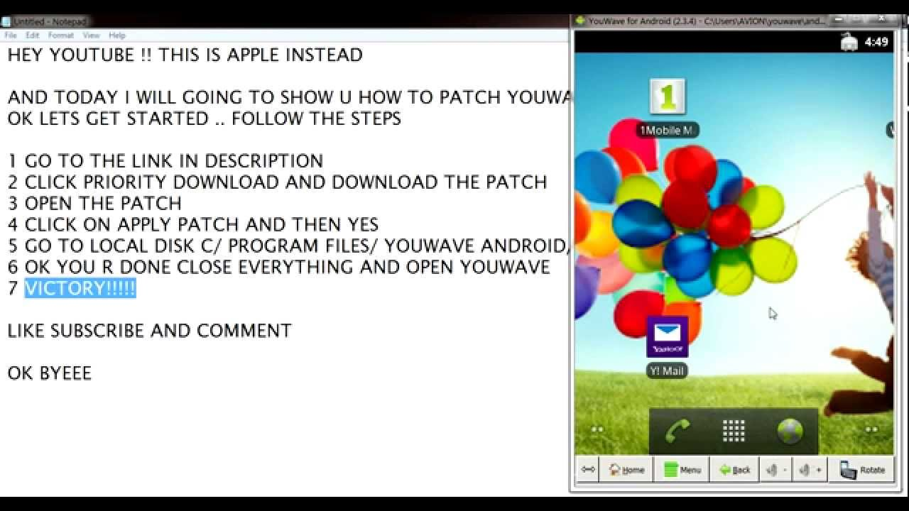 YouWave for Android Full Patch