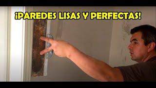Como hacer acabados con yeso en paredes