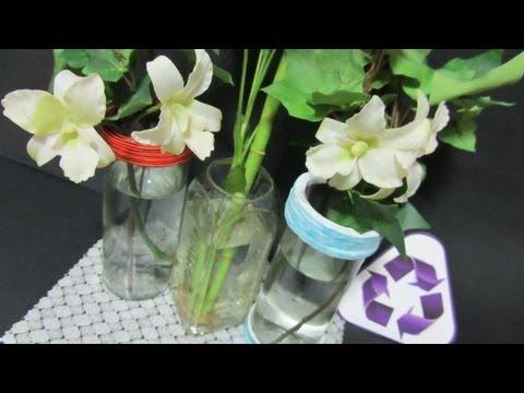 Reciclaje: Como cortar botellas de cristal.