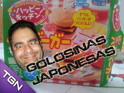 Que rica las golosinas japonesas Happy Kitchen
