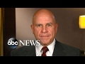 One-on-One with White House National Security Advisor Lt. Gen. H. R. McMaster