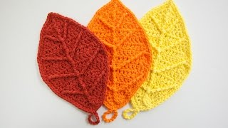 How To Crochet: Happy Autumn Leaves