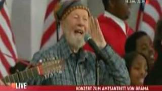 Pete Seeger & Bruce Springsteen HD This Land Is Your Land