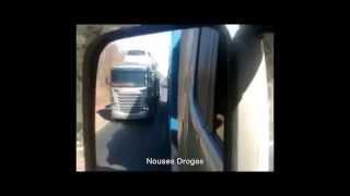 Verdaderos locos al volante de un camión