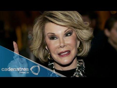 Muere la presentadora de TV Joan Rivers
