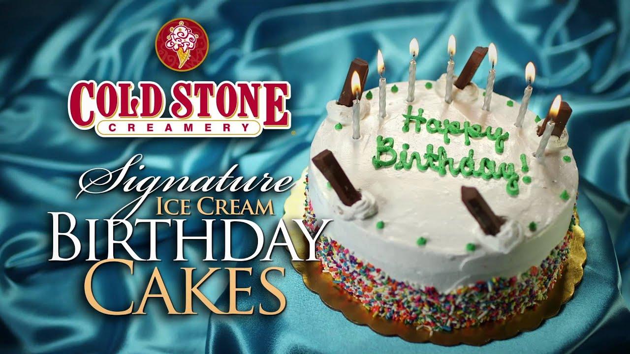 Cold Stone Birthday Cake Coupon