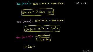 Kotne funkcije dvojnih kotov
