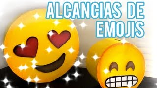 Alcancía de emojis - Maualidades para niños