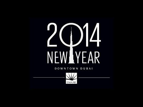 Burj Khalifa Downtown Dubai New Year's Celebrations 2014 #BeThere