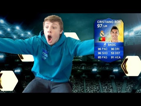 FIFA 14 - TOTS RONALDO IN A PACK LIVE!!!!!!!!