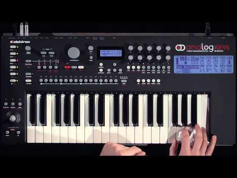 Elektron Analog Keys 4 Voice Analogue Synthesizer