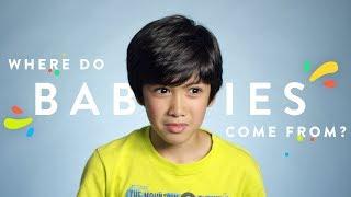 100 Kids: Where Do Babies Come From?   100 Kids   HiHo Kids