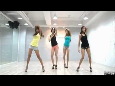 SISTAR - So Cool (dance practice) DVhd