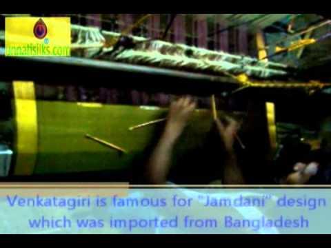 Venkatagiri Weaving Nellore Andhra Pradesh India.