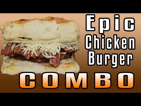 Epic Chicken Burger Combo - Epic Meal Time