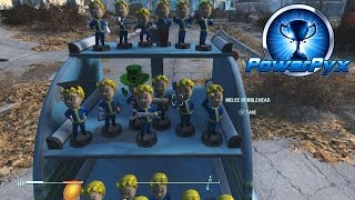 Fallout 4 - All Bobblehead Locations (They