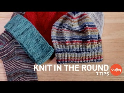 How to Knit in the Round: 7 Tips & Techniques | Craftsy Knitting Tutorial