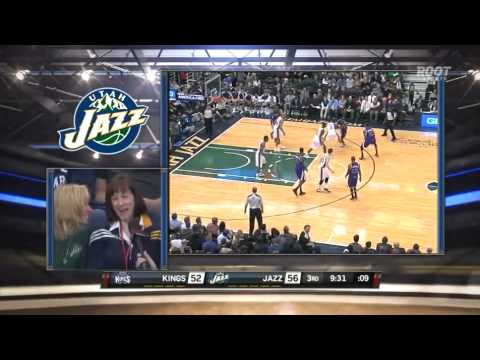 Steve Brown vs. Gordon Hayward's mom and aunt. Awkward.