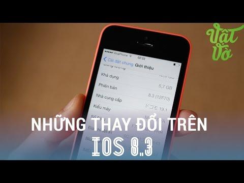 [Review dạo] Những điểm mới trên iOS 8.3 - cài đặt tốt trên iPhone 5c lock
