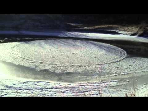 Raw: Rare N.D. Ice Disk Found