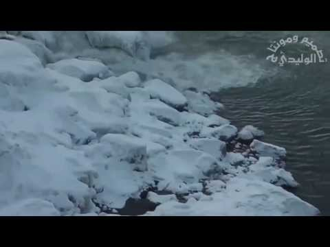 تجمد شلالات نياجرا Niagara Falls freezing
