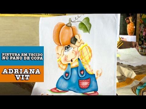 Pintura em tecido (Adriana Vit)