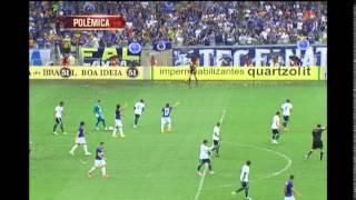 Veja os lances pol�micos de Cruzeiro e Goi�s