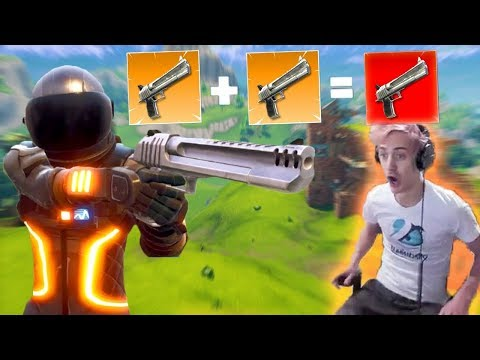 DOUBLE HAND CANON NEW META!! NINJA NEW UPDATE REACTION! | Fortnite Highlights & Funny Moments #4
