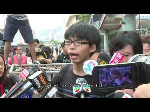 The So-called 'Umbrella Revolution' happening in HK----TVB News Report(2014-10-01)