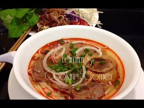 Bun Bo Hue - Vietnamese Spicy Beef Noodle Soup - Bún Bò Huế