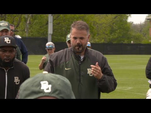Baylor Football: Coach Rhule Post-Practice Interview – Day 13