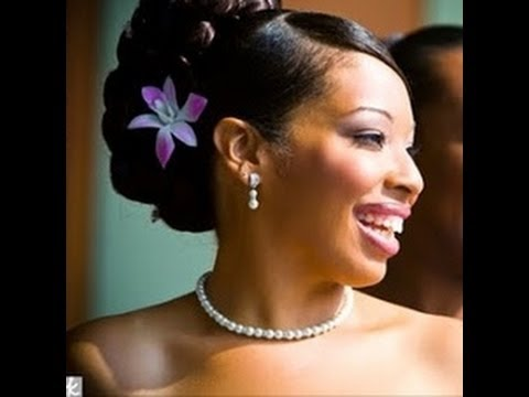 50 wedding hairstyles for black and african women  youtube