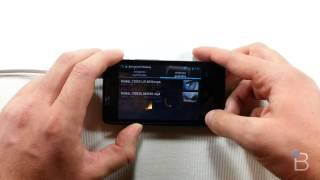Motorola RAZR D1: Aplicación De TV Digital Y Analógica