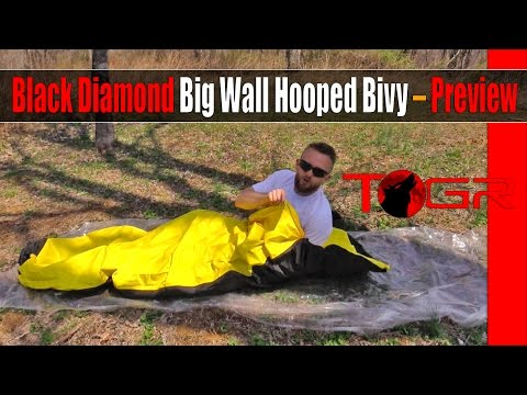 Black Diamond Big Wall Hooped Bivy – Preview