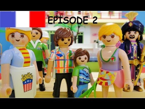Playmobil movie 1 for Playmobil 5433 famille avec piscine et plongeoir