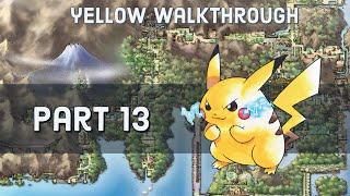 Pokemon Yellow Walkthrough Part 13 Ghost Tower Of