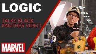 Logic - Marvel LIVE! NYCC 2016