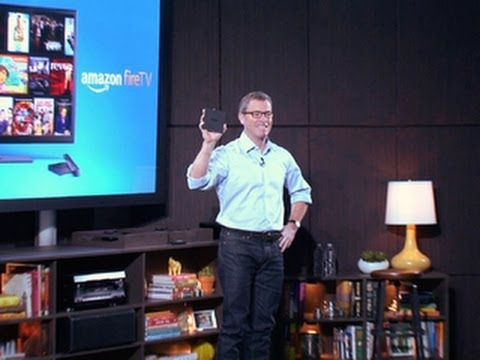 Amazon unveils the FireTV