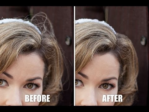 Professional Photoshop Portrait Retouching - Part VIII - Cleaning Up the Details