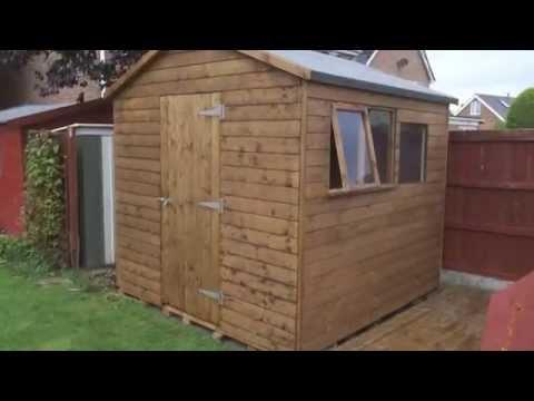 10 x 8 pent shed plans canada revenue desk work for Garden sheds canada