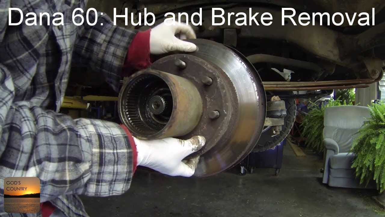 ford e 350 wiring diagram dana 60 axle hub and brake disc removal how to youtube  dana 60 axle hub and brake disc removal how to youtube