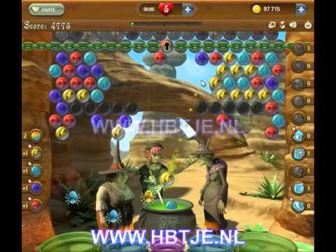 Bubble Witch Saga level 121